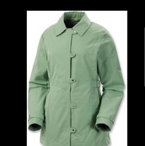 Columbia Bryon Bay Womens Trench Coat Size Large